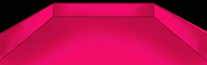 Bandeja rosa de san valentin
