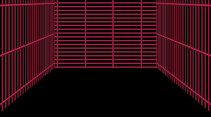 Rejilla rosa