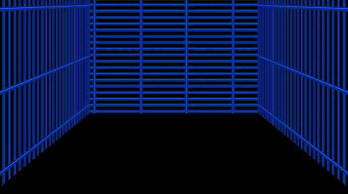 Rejilla azul