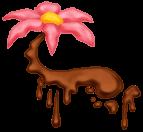 Flor flotante