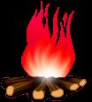 Fuego de leña