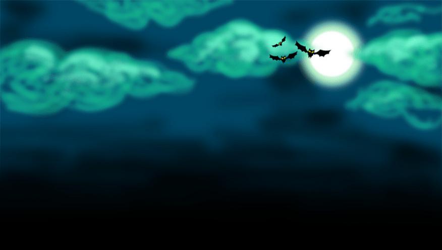 Cielo de halloween