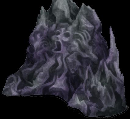 Piedra lustrosa subterránea lustrosa