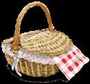 Cesta cerrada de picnic