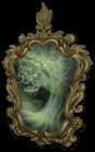 Espejo de castillo oscuro