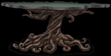 Mesa del castillo oscuro