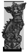 Estatua china