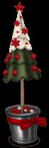 Mercado de navidad arbol de navidad