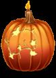 Gran vela Halloween
