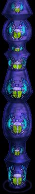 Escarabajo de Halloween Pilar 2018