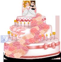 Pastel de boda gigante