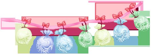 Pastel de boda de globos de guirnalda