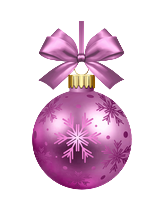 Bola de navidad púrpura