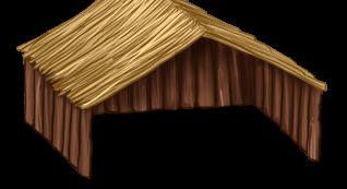 Casita de madera grande