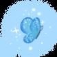 Mariposa elfa