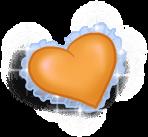Cojín pequeño corazón