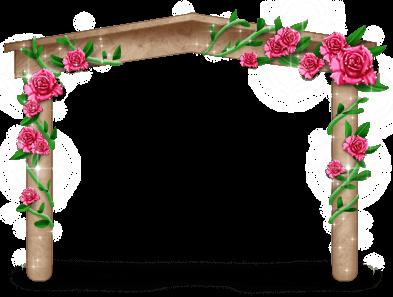 Arco floreado