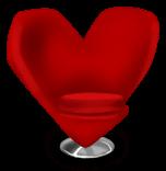 Silla del corazón