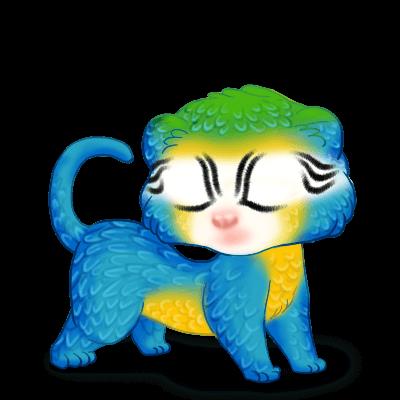 Adopta un Hurón Guacamayo azul