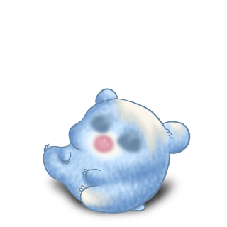 Adopta un Hámster Azul pastel