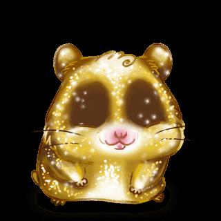 Adopta un Hámster Brillo dorado