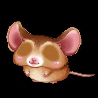 Adopta un Ratón Beige dorado