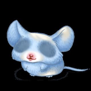 Adopta un Ratón Azul pastel