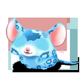 Adopta un Ratón Leopardo azul