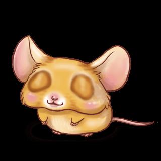 Adopta un Ratón Albaricoque clásico