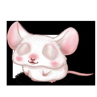 Ratón Albino