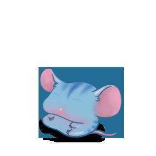 Adopta un Ratón Tigre azul