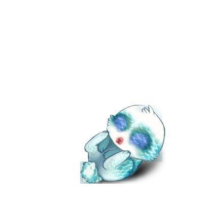 Adopta un Conejo Azul Pastel