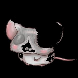 Adopta un Ratón En blanco y negro