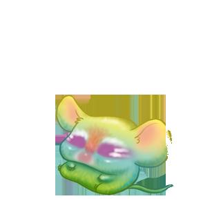 Adopta un Ratón Brillo dorado
